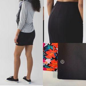 Lululemon & Go Cityfarer Black Pencil Skirt